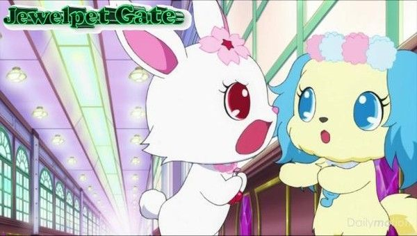 Jewelpet fun Gate, scène 72 : Sapphie destiny