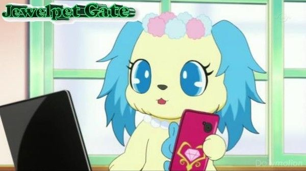 Jewelpet fun Gate, scène 67 : Sapphie destiny