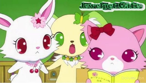 Jewelpet fun Gate, scène 69 : Sapphie destiny